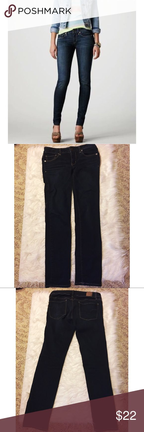"""American Eagle Super Stretch Skinny Jean American Eagle Super Stretch Skinny Jean The ultimate """"cool girl"""" fit made for every day. Super Stretch 