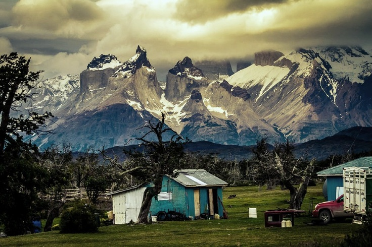 A dramatic backdrop at Rio Serrano, Torres del Paine National Park, Chile. Picture: David Roby of Mawdesley, Lancashire