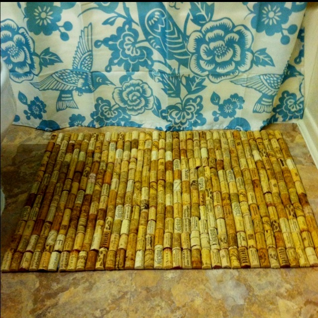 cork bath mat instructions