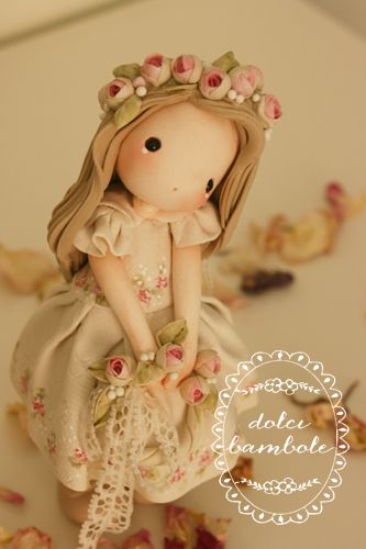 Dolcissima .Dolci Bambole.Porcellana fredda . http://dolcibambole.blogspot.it/