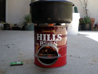 coffee cans rocket stoves and stove on pinterest