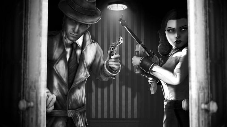 Elizabeth,BioShock Infinite,BioShock,Игры,Booker Dewitt