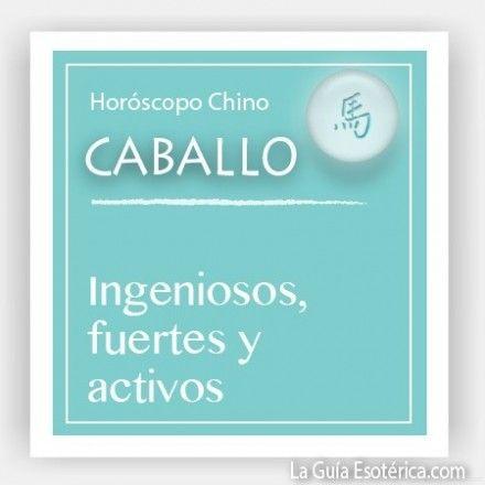 Horóscopo Chino Caballo (Pulsa en la imagen para ver lo que te depara el 2014)
