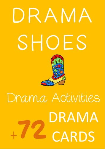 Drama Games and Activities : DRAMA SHOES (+ Drama Cards)