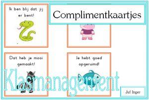 complimentkaartjes - juf Inger