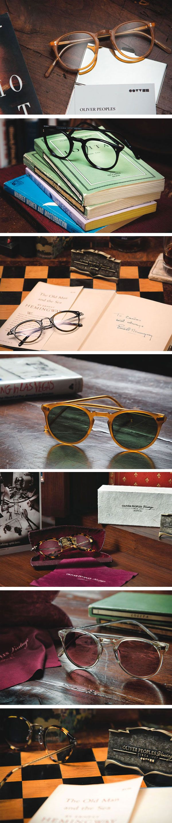 Oliver Peoples 'Vintage Lookbook'