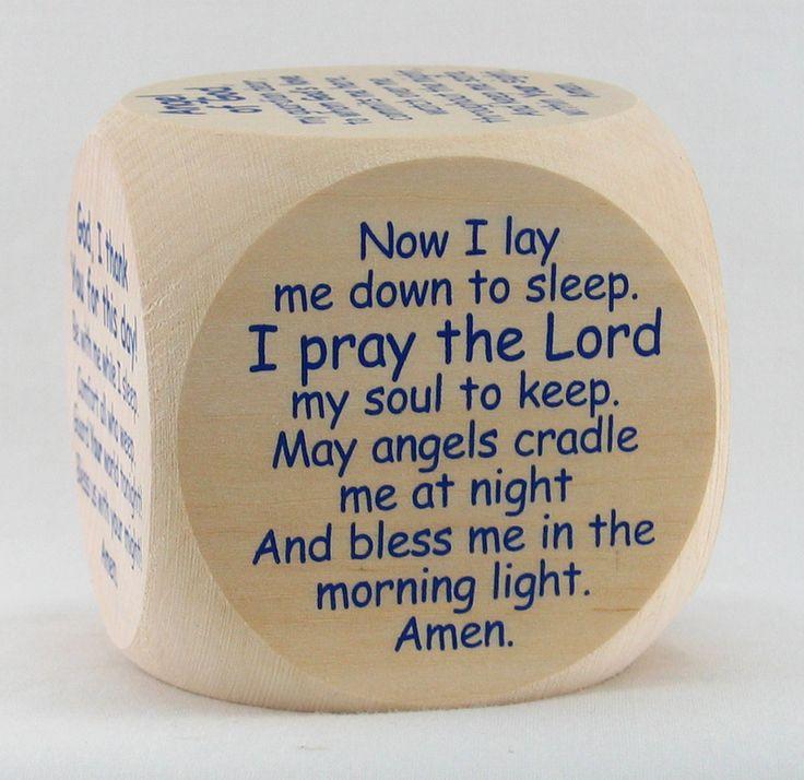 39 best baby gifts images on pinterest catholic baby gifts and reginas catholic gifts the original bedtime prayer cube 1025 http negle Images
