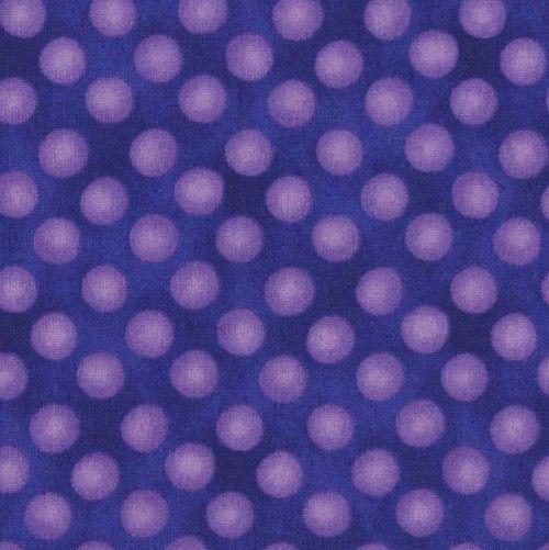 Puntíky+-+fialová/modrá,+10+cm+Veliké+puntíky.+materiál:+100%+bavlna+šířka:+110+cm+země+původu:+USA/Korea+ +Minimální+objednávka+je+2ks+=+20cm,+dále+pak+po+10ti+centimetrech.+Látku+dostanete+vcelku,+např.+5ks=50cm,+15ks=1,5m.