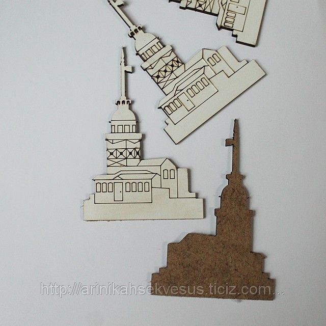 Kız Kulesi Ahşap Lazer Kesim (ID#1030409): satış, İstanbul'daki fiyat. Arı Nikah Şekeri Ve Süs adlı şirketin sunduğu Lazer Kesim Ahşap obje Ve Kutular