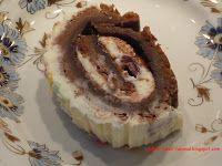 lábas, fazék, fakanál: Cseresznyés csokoládés mascarpone tekercs