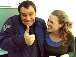 David and Kate Hewlett bts of SGA - they were great together especially in The Shrine :)))