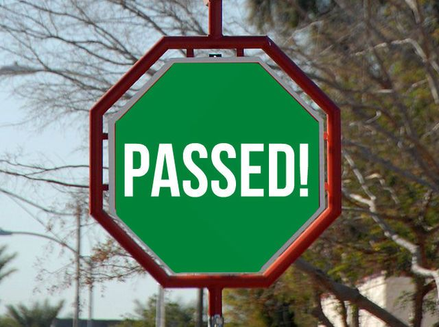 I got: You are in the driver's seat!!Unlike 92% of driving adults, you passed the 'Road and Traffic Signs Test'. You are perceptive, patient, and sharp; you follow the rules; and generally speaking, you have a positive attitude on the road.  Can You Pass This Traffic Signs Test Meant For Kids?