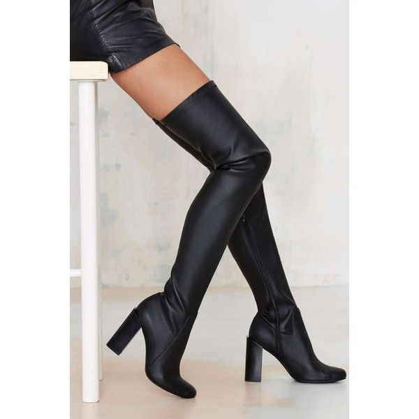1000  ideas about Black High Boots on Pinterest | Oversized