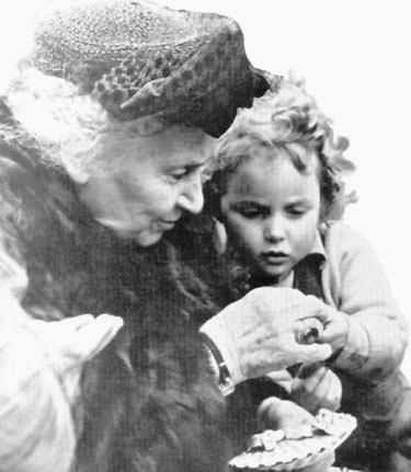 Maria Montessori was born in Italy in 1870 - the first woman