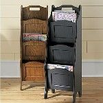 JC Penny Magazine Holder - sheet music storage.