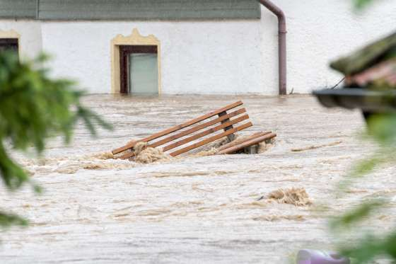 Hochwasser in Bayern - Armin Weigel
