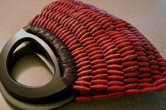 paper bead purse