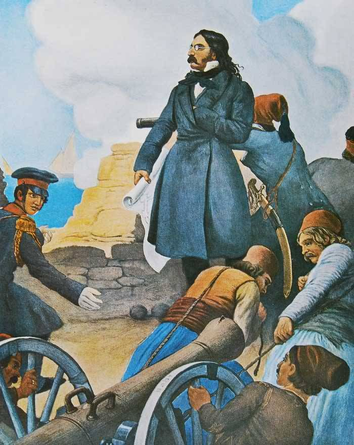 "Peter von Hess:""Αλέξανδρος Μαυροκορδάτος"" - Alexandros Mavrokordatos by Peter von Hess."