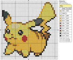 Pokemon cross stitch patterns
