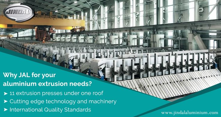Why JAL for your aluminium extrusion needs?  •Single largest producer with the widest range •11 extrusion presses under one roof •Cutting edge technology and machinery •Pioneers in aluminium extrusion in the country •International Quality Standards •Winner of multiple awards and certifications •Decades of industry presence and recognized for quality  http://www.jindalaluminium.com/jindal-extrusion-division.php #JAL #LeadingAluminiumExtrusionManufacturer