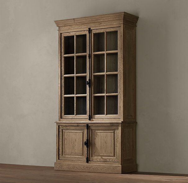 126 best images about restoration hardware on pinterest upholstered sofa cabinets and glass - Restoration hardware cabinets ...