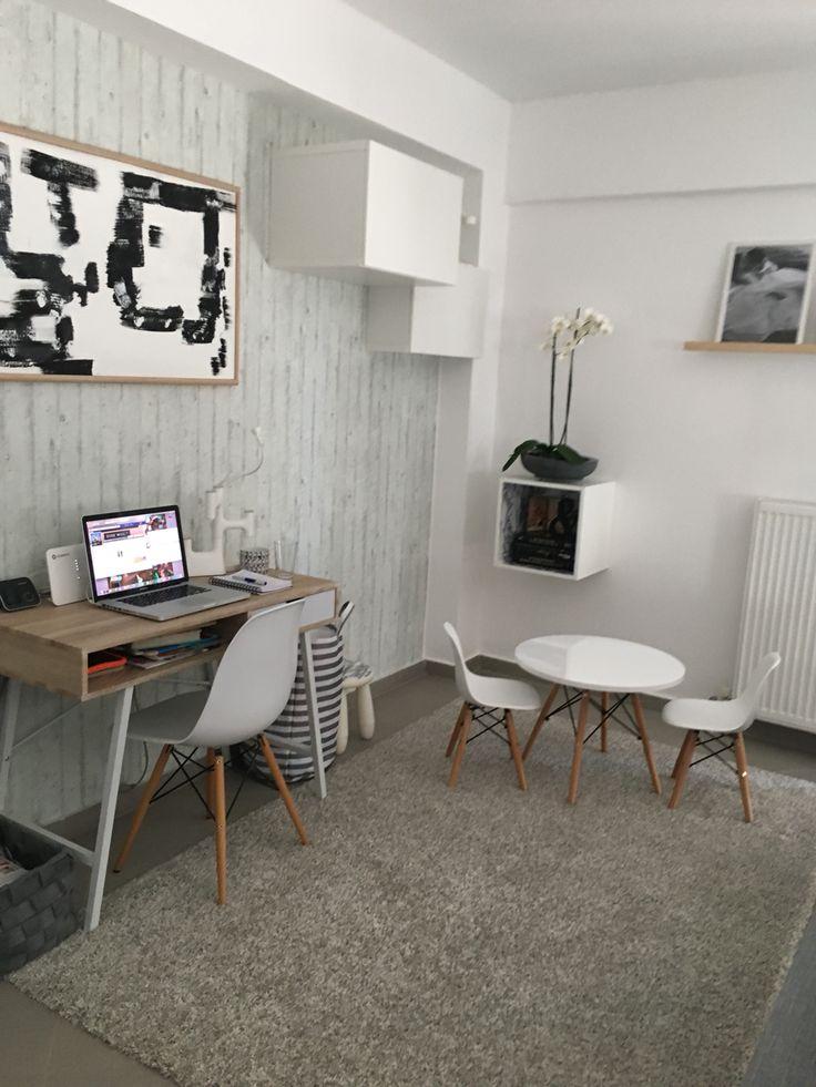 #home_dou Scandinavian style cement wallpaper