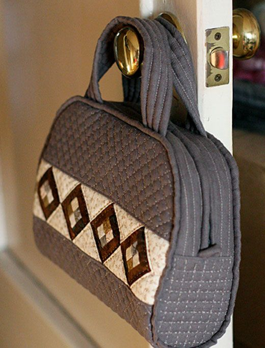 Master Class № 19. Patchwork handbag. - Fair Masters - handmade, handmade