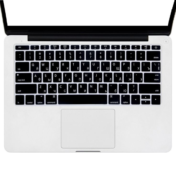 Silicone RU Russian Keyboard Cover For Macbook Pro Retina 12 inch US Version Computer Keyboard Skin Protector