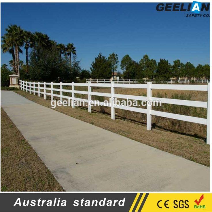 cheap vinyl fence 100% Virgin plastic garden fence