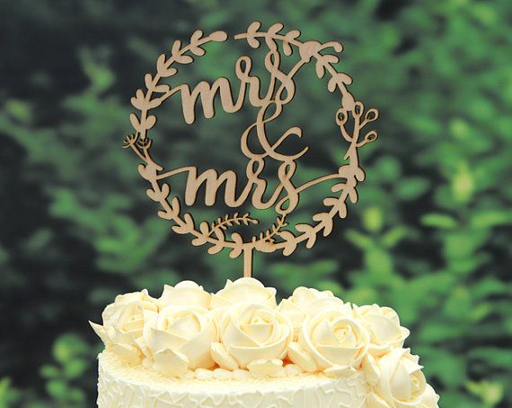 Come to us for the best personalized wedding cake topper  As listed is one 5.5 wide cake topper which will perfect fit a wedding cake with a 5- 6 wide