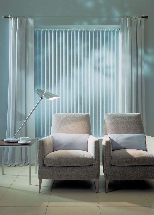 Luxaflex Vertical Blinds Feature Room Darkening Options