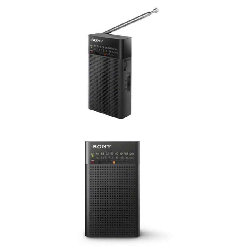 Portable AM FM Radios: New Sony Fm/Am Portable Battery Transistor Radio Compact Small Travel Size BUY IT NOW ONLY: $30.35