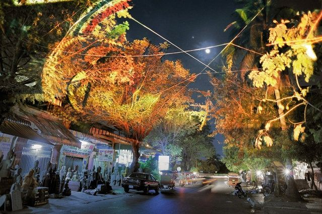 clement briend art | ... /Cambodian_Trees_By_Clement_Briend. http://restreet.altervista.org/briend-clemente-trasforma-gli-alberi-in-divinita/
