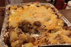 This is the next BIG HIT for recipes.  You must try this Twice Baked Potato Casserole.  All your friends will thank you