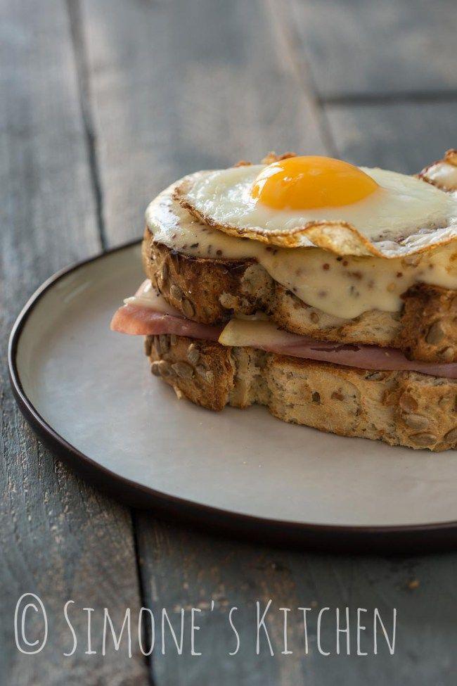 Croque madame, de ultieme Franse tosti plus | simoneskitchen.nl