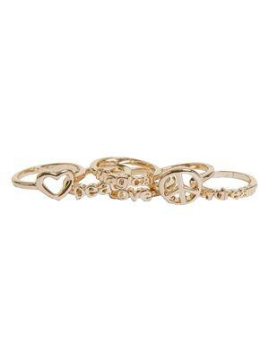 Barfota spring/summer jewellery 2014 Ring multi words www.barfota.no