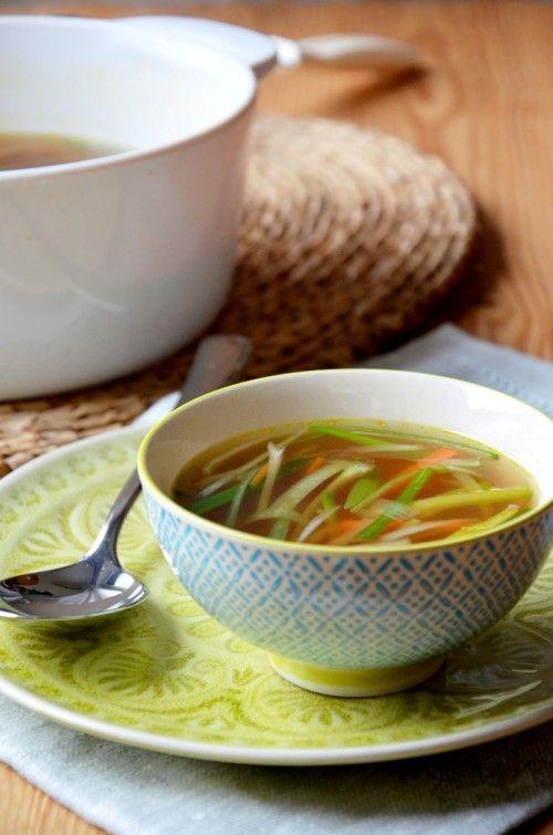 Egyszerű ázsiai zöldségleves