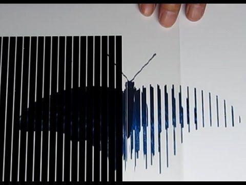 スキャニメーション(6コマ)の作り方 How to make Animated Optical Illusions - YouTube