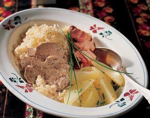 Mulgikapsad (Estnischer Sauerkraut-Eintopf)
