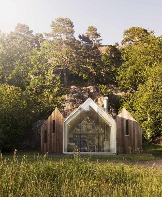 Reiulf Ramstad Arkitekter's Micro Cluster Cabins in Norway.