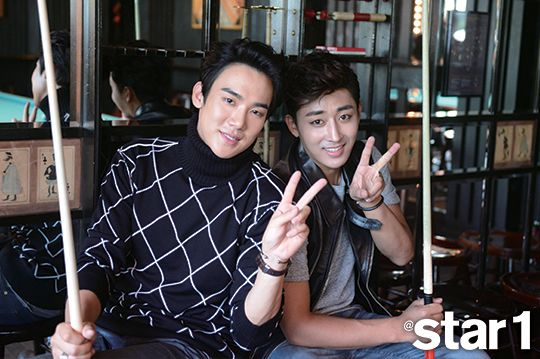 Yoo Yun Suk and Son Ho Joon - @ Star1 Magazine October Issue '14