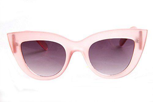 cool SojoS Gafas De Sol De Moda Marca Metal Para Mujer-Lentes Planos De Espejo- Con Estilo Ojo De Gato SJ1001