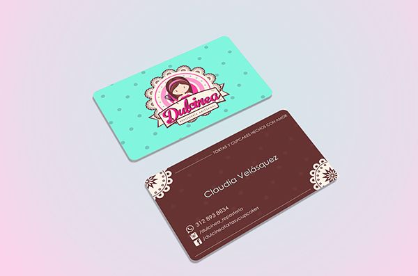 Business card - tarjeta de presentación.