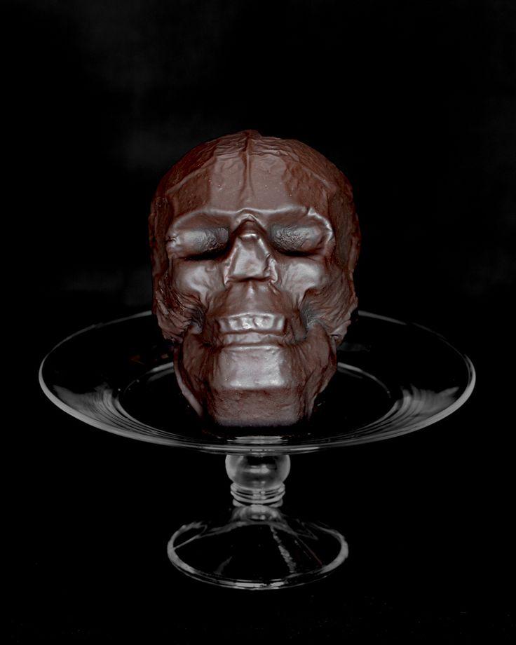 Chocolate Skull Cake