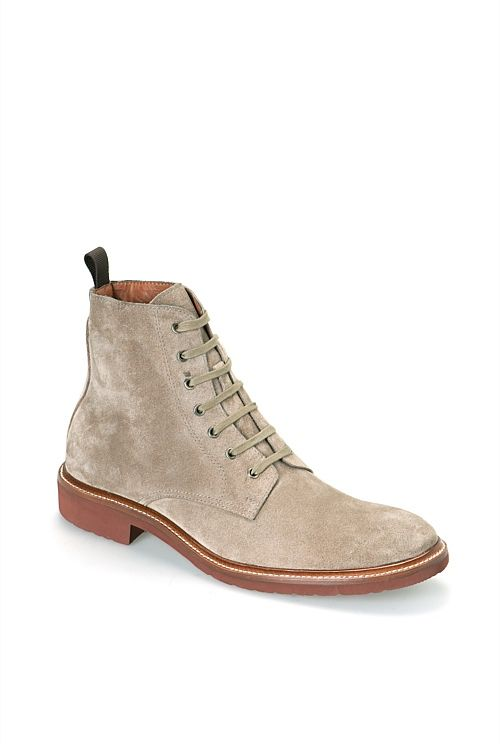 Lean Suede Boot - Country Road
