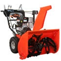 The Ariens Deluxe Platinum Series ST30DLE is built to handle snow fall. This prosumer grade snow blower has a clearing path of 30 inches, and a largest-in-class 14-inch auger that can power through winter's harshest conditions.    The Ariens ST30DLE has a powerful 342cc that starts right up with a convenient electric start system (and you still have a mitten-grip recoil backup if you need it). Hand warmers keeps your fingertips toasty warm in sub-zero weather.