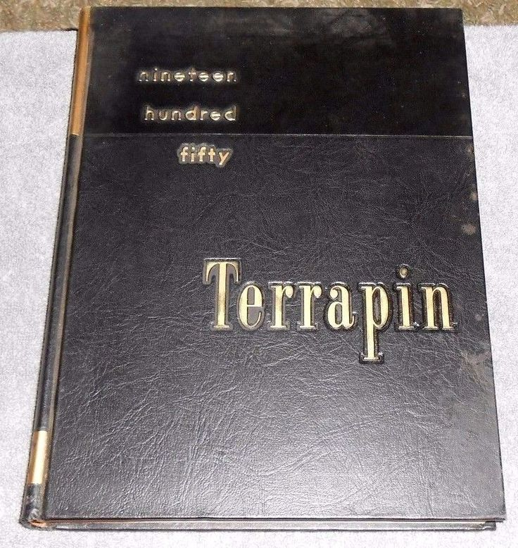 Vintage Yearbook The TERRAPIN 1950 Volume 49 University of Maryland College Park