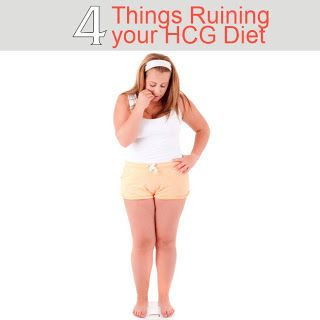 My Triumph: 4 Mistakes that could be Ruining your HCG Diet