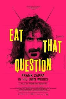 Opinión de Eat That Question: Frank Zappa in His Own Words de Thorsten Schütte (64º Festival de cine de San Sebastián) - soycazadoradesombrasylibros