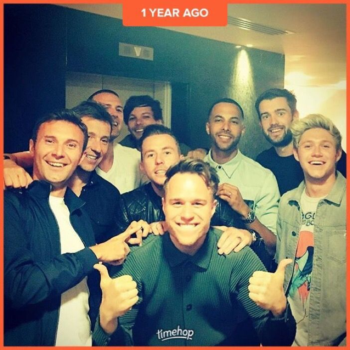 @ollyofficial: Mad boys!! Can't believe it's been a year Already…